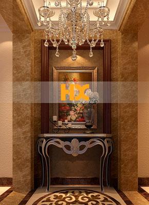 石材玄关背景/石材门厅